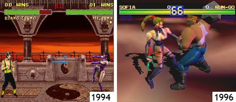 Mortal Kombat (SNES) und Battle Arena Toshinden (PSone)