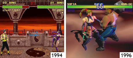 Mortal Kombat (SNES) und Battle Arena Toshinden (PSone)