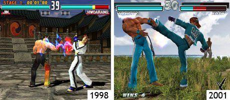 Tekken 3 (PSone) und Tekken Tag Tournament (PS2)
