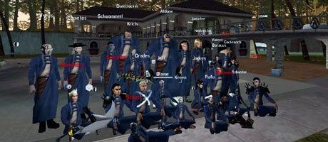 Die Blue Assassins in Anarchy Online