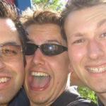 Francesco, Christian und ich