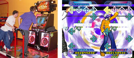 DanceDanceRevolution - Tanzen für den HighScore.