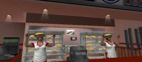 Flossen hoch und Burger her.