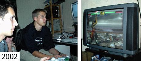 Soul Calibur auf der Dreamcast anno 2002.