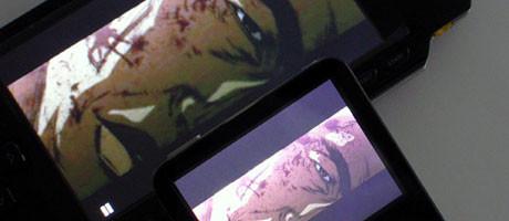iPod im Vergleich mit der PSP.