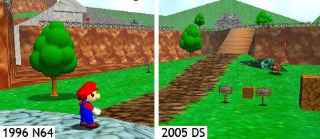 Mario 64 DS und N64