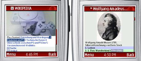 Wikipedia mobil - Wissen in der Hosentasche