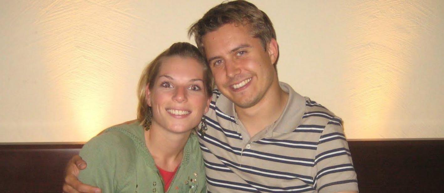 Annika Schulz (links) und Marc Tönsing (links) nach 5 Jahren