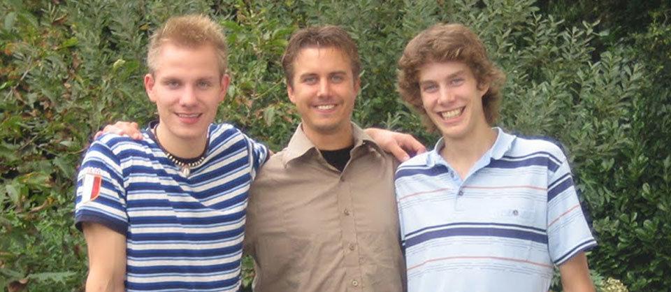 Frederic Tönsing, Marc Tönsing und Christopher Tönsing