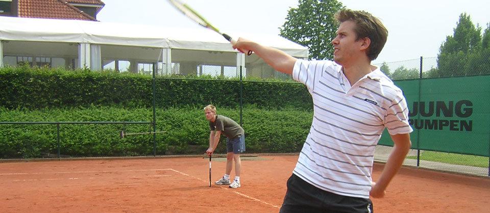 Tennis in Halle in Westfalen