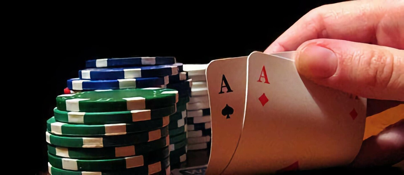Poker ist ein Glücksspiel