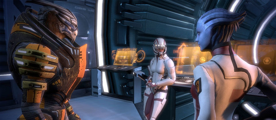 In High Definition sieht Mass Effect unglaublich aus