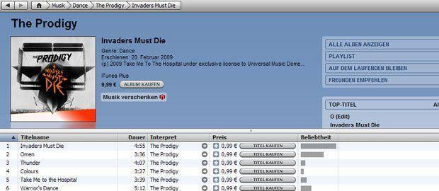 iTunes Store - So macht mir das Kaufen von Musik wieder Spaß