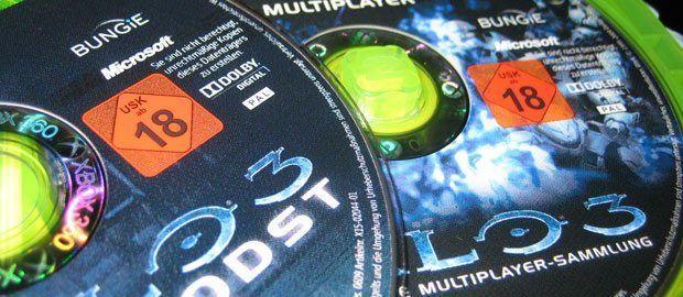 Die zweite Disc enthält den kompletten Multiplayermodus von Halo 3