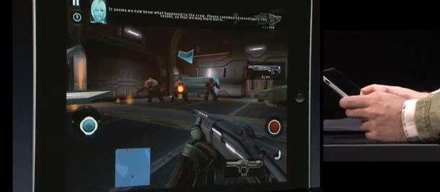 Der Ego-Shooter N.O.V.A. von Gameloft auf dem iPad
