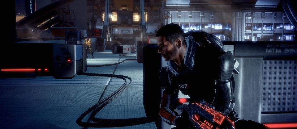 Mass Effect 2 ist vom Gameplay näher an Gears of War dran als an Fallout 3.