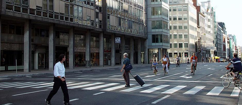 Day without cars in Brüssel. Bildrechte: Paul Henri