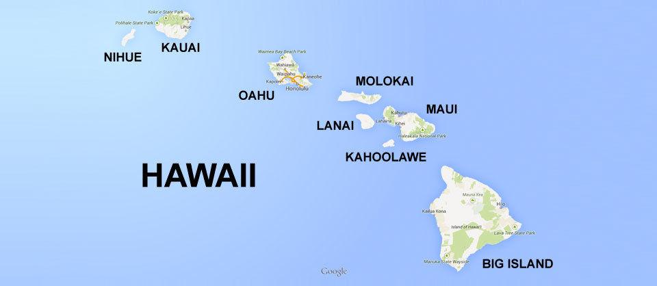 Hawaii Inselgruppe