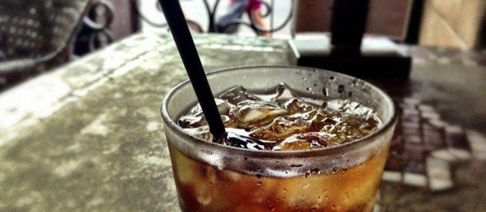 Stammgetränk drinking in L.A.