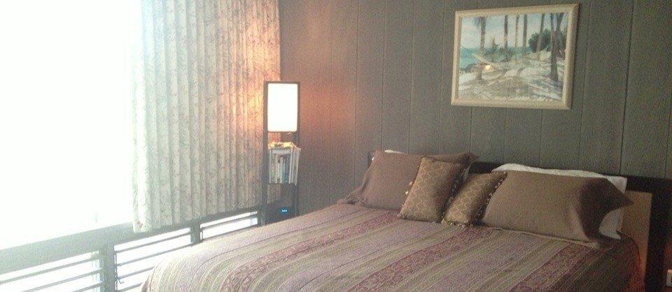 Unser Schlafzimmer bei der CouchSurfing Gelegenheit bei Rick