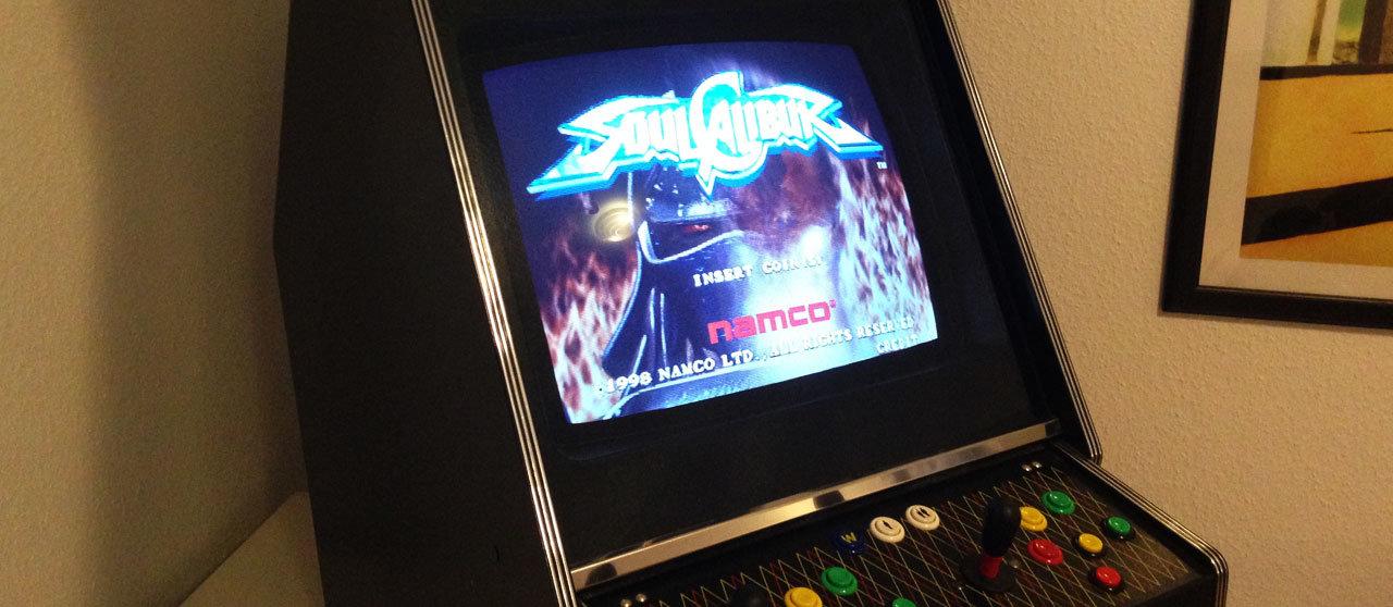 Soul Calibur Arcade Automat