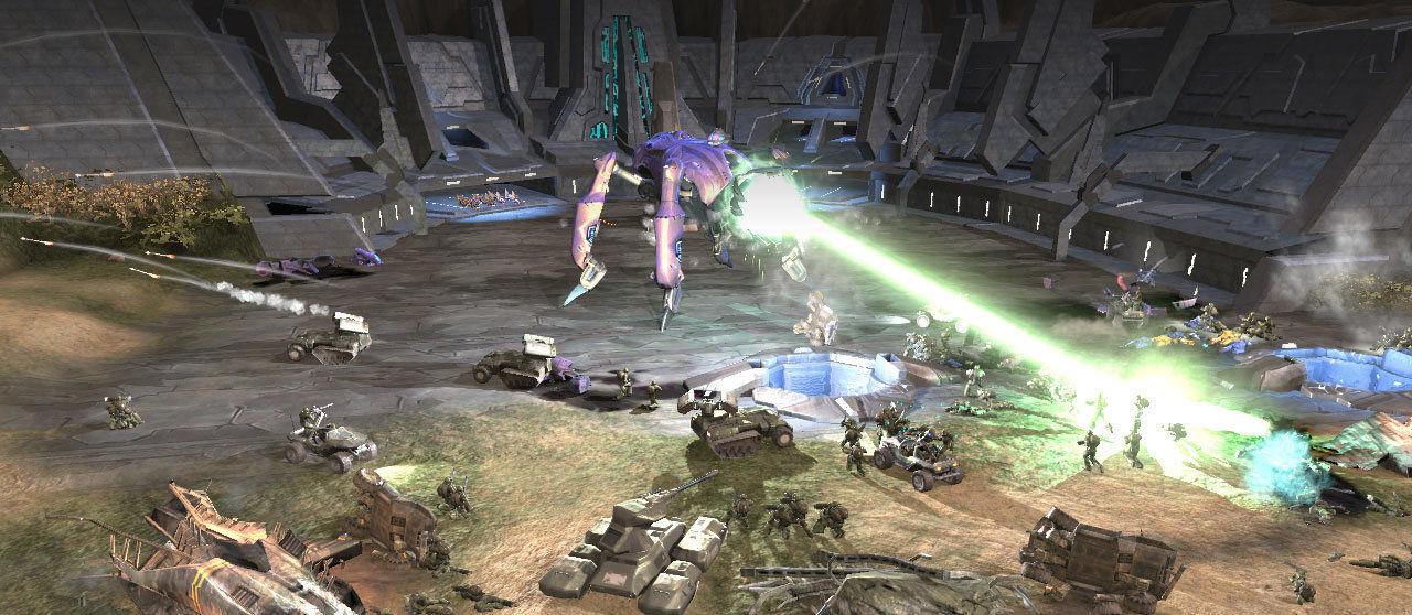Die Scarabs sind wie bei Halo üblich die tödlichste Kampfmaschine der Allianz.