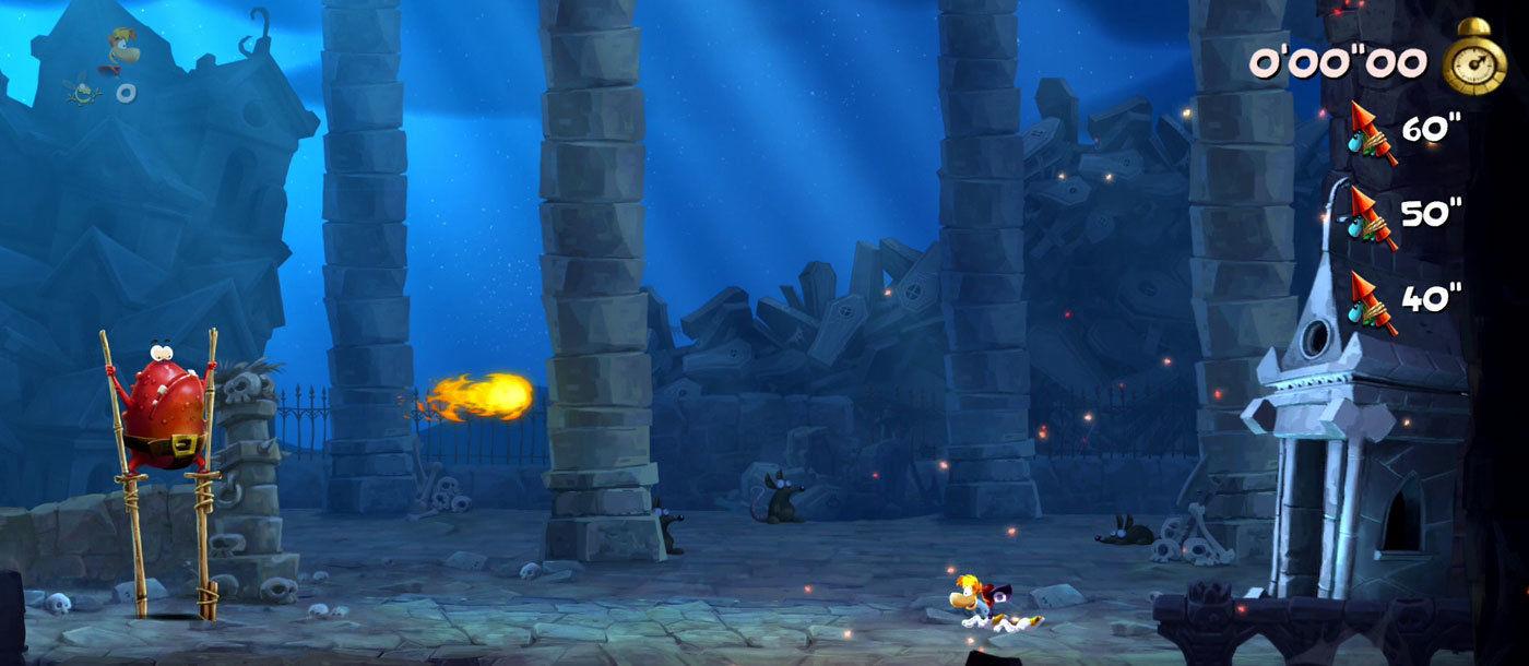 Rayman ist so schnell wie Sonic
