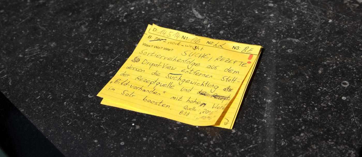 Eines unserer Kanban-Tickets aus dem Unit Test