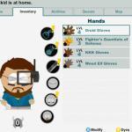 Wie bei FInal Fantasy: Der Charakter kann equipped werden