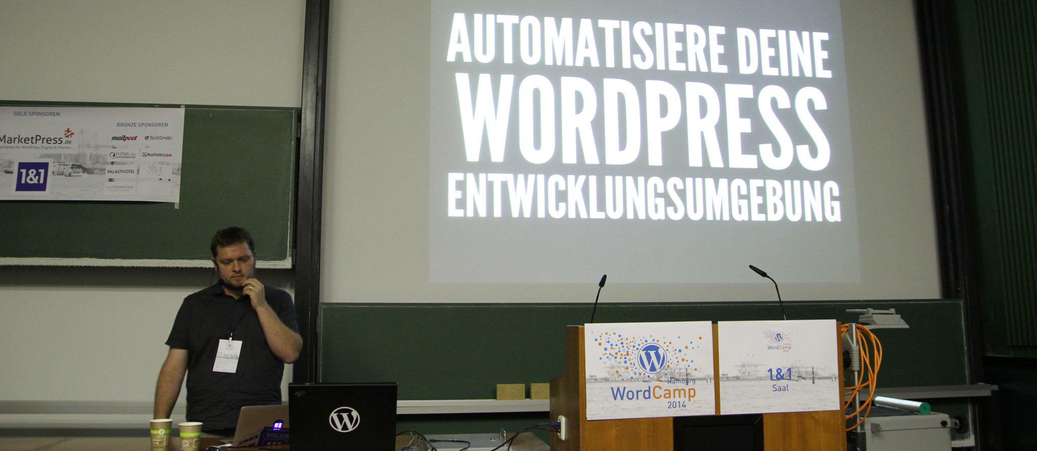 Markus Heurung - Automatisiere deine WordPressumgebung