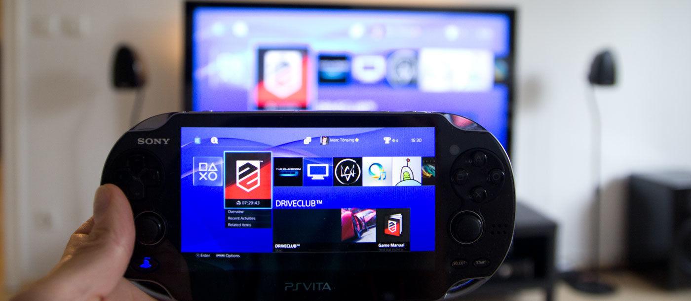 remote play: playstation 4 auf ps vita | marc.tv, Wohnzimmer