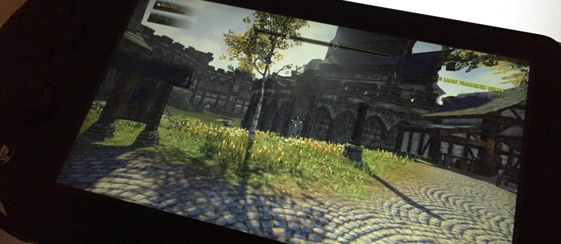 The Elder Scrolls Online auf der PS Vita