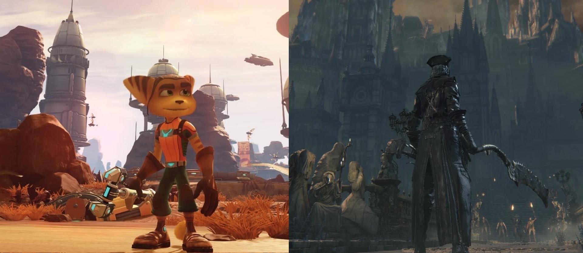 Ratchet & Clank und Bloodborne auf der selben Hardware.