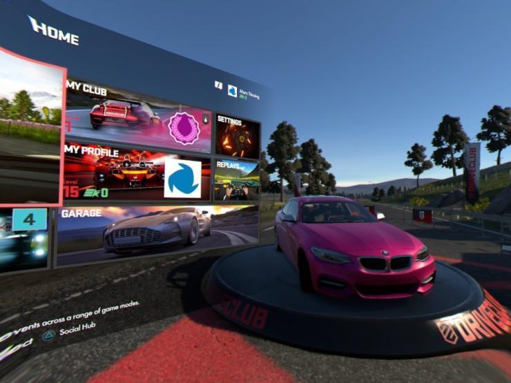 Die VR Menüs sind einfach gut umgesetzt