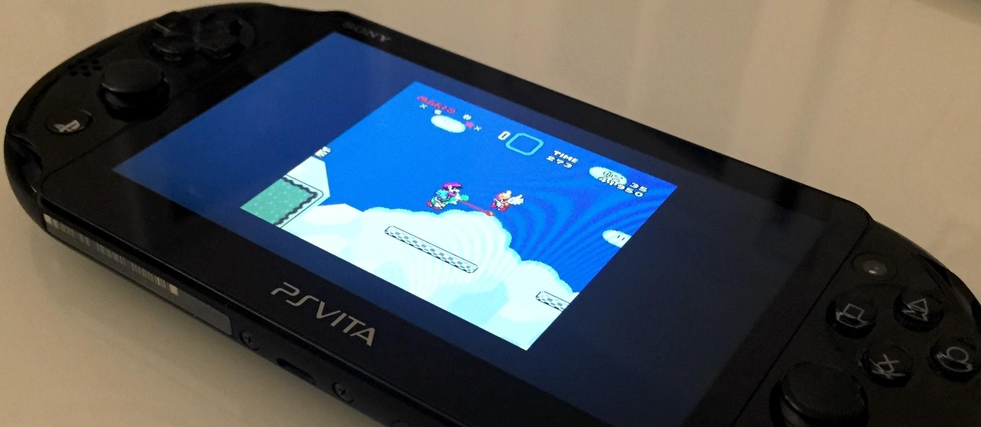 PS Vita Hacked SNES Emulator