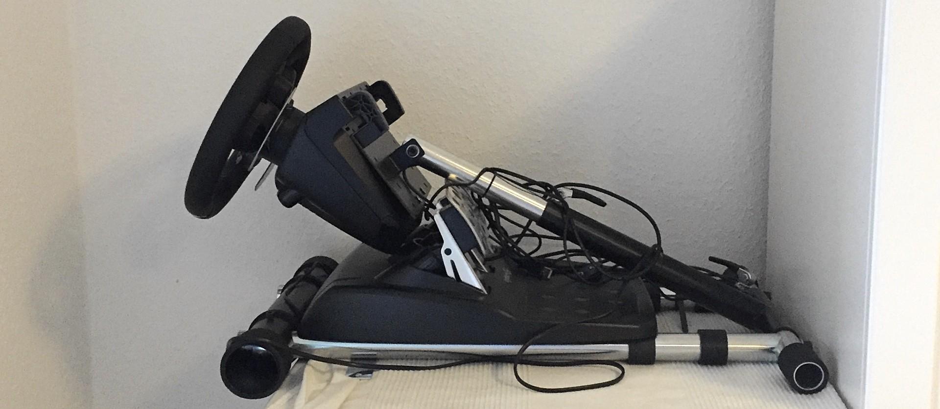 Wheel Stand Pro zusammengeklappt