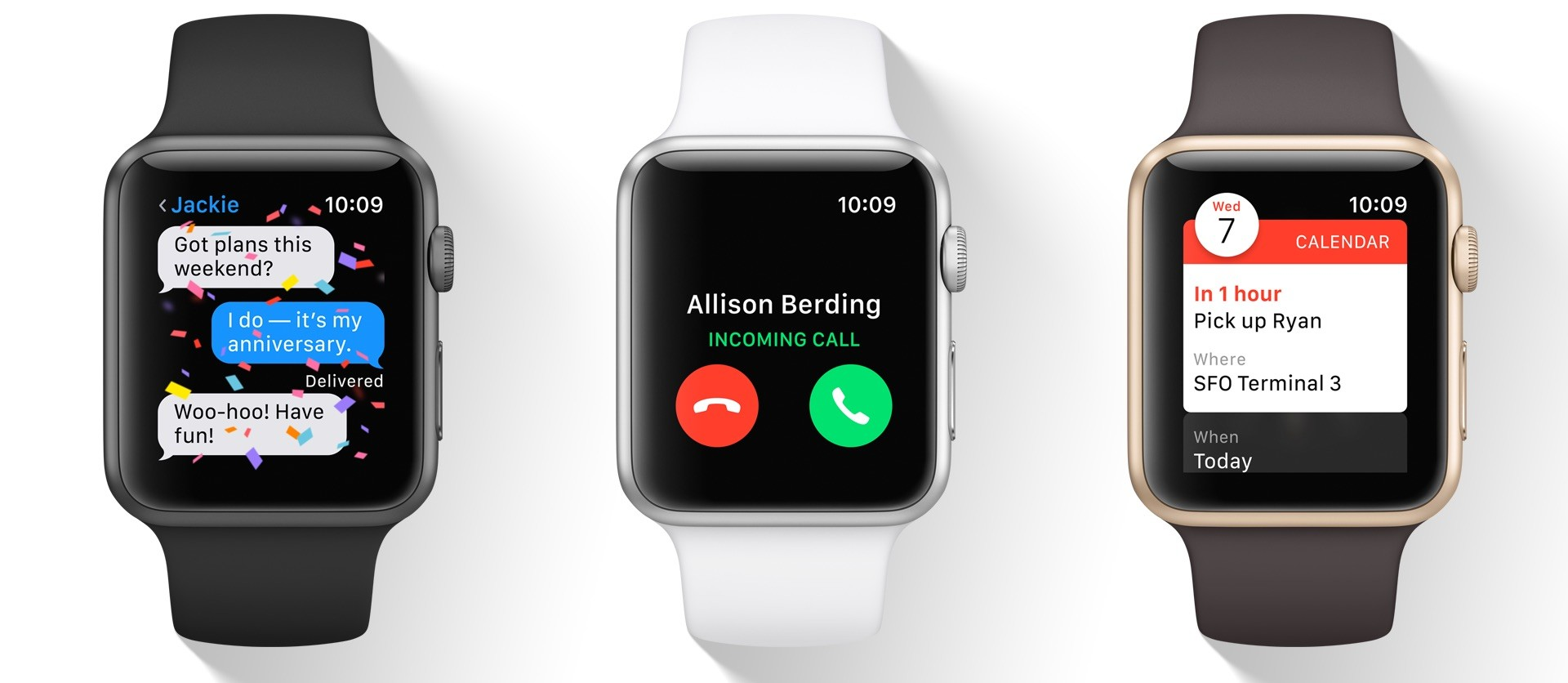 Apple Watches - Funktionen