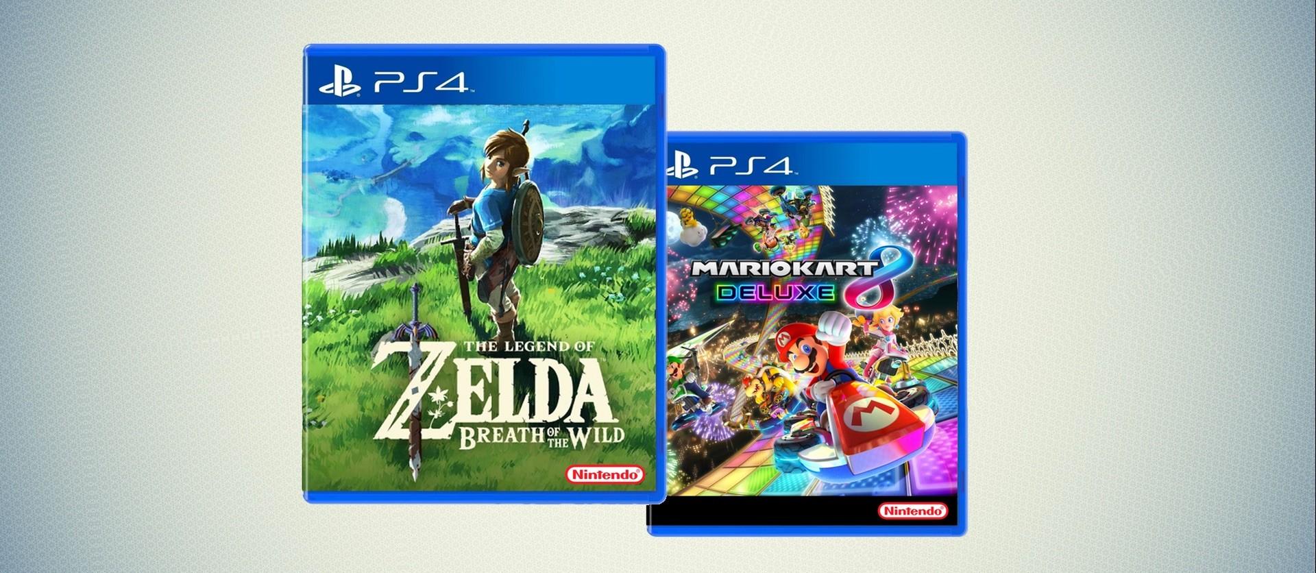 Zelda Breath of the Wild für PlayStation 4