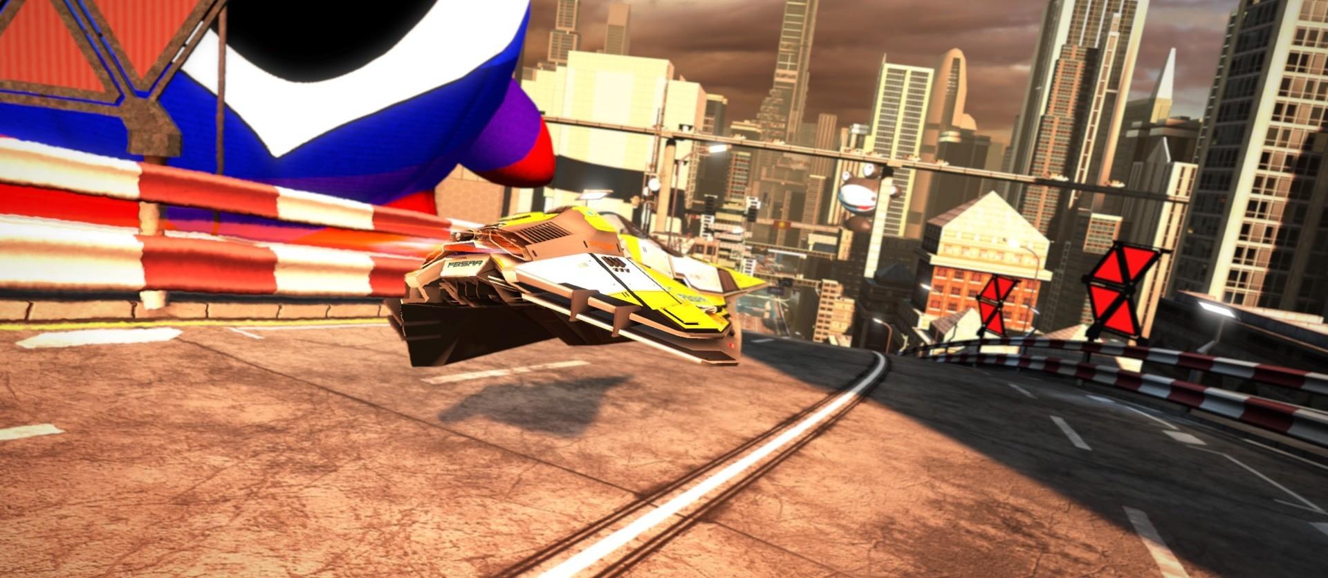 Kein Rennspiel ist schärfer als WipEout Omega auf der PS4.