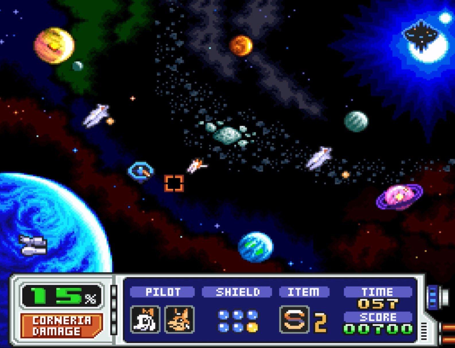Star Fox 2 Karte
