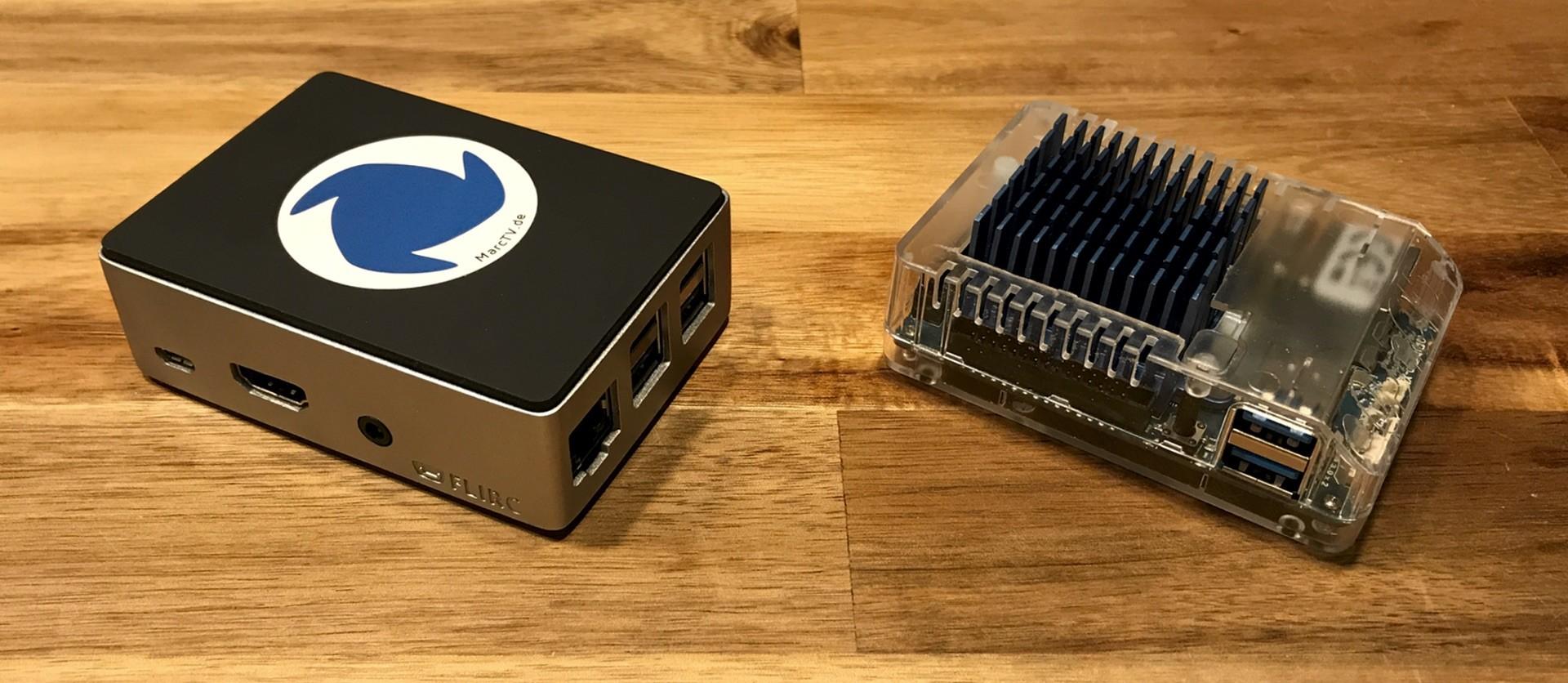 Odroid XU4 vs Raspberry Pi mit Recalbox
