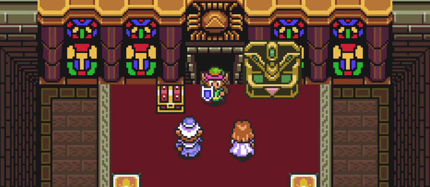Zelda 3 auf dem SNES