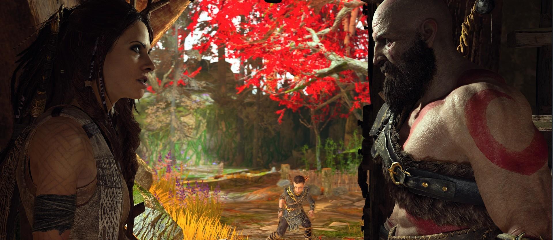 Kratos und Freya