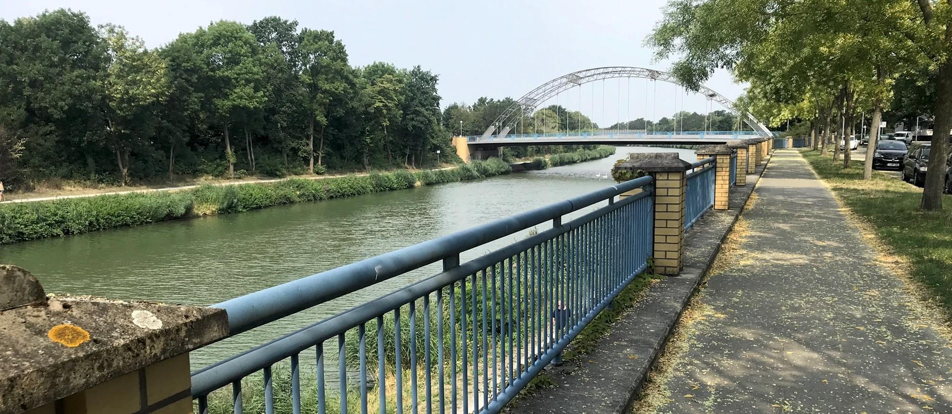 Mittellandkanal in Hannover