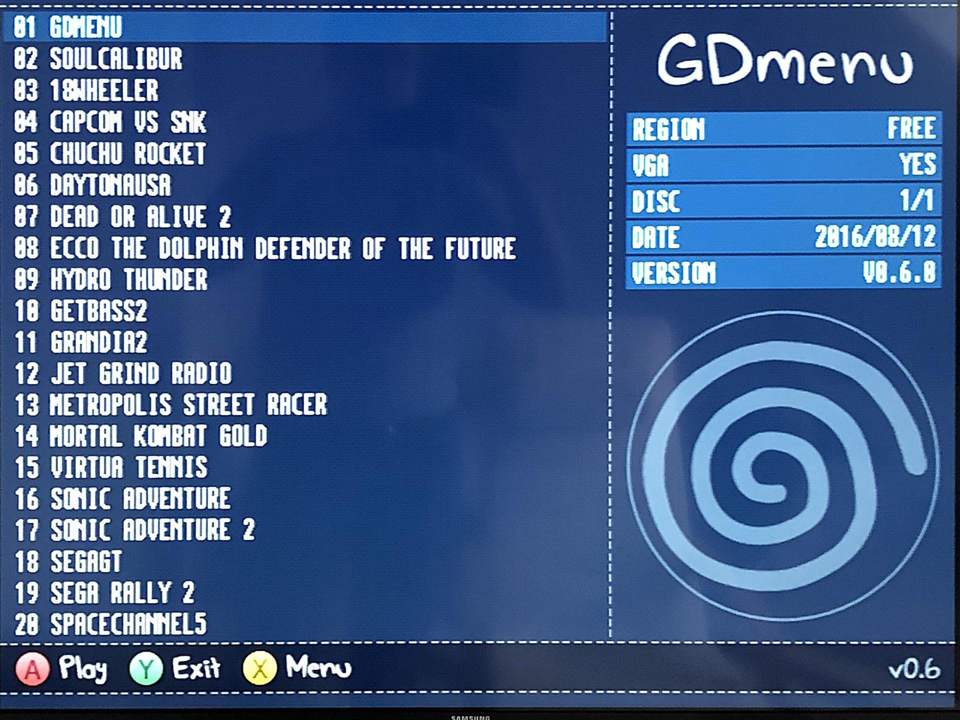 GDemu: Dreamcast-Spiele von SD-Karte laden – MarcTV