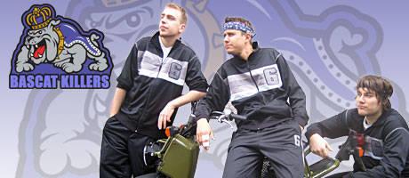 Die Bascat Killers sind v.l. Filip Zarea, Marc Tönsing und Christian Esseling.