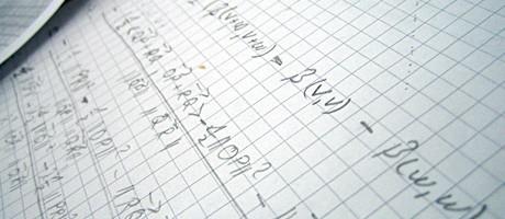 Mathematik habe ich ja nach dem BA abgehakt. Nils studiert es lustig weiter...