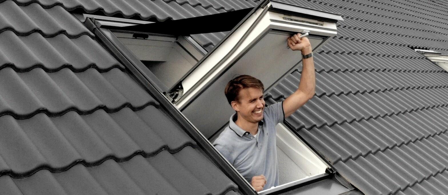 Velux Dachfenster Markise und Rollo für Sonnenschutz