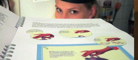 Die Ausarbeitung der Bachelorarbeit mit Jenny im Hintergrund