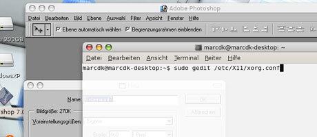 Es gibt auch Themes für Beryl die das System wie andere OS aussehen lassen.